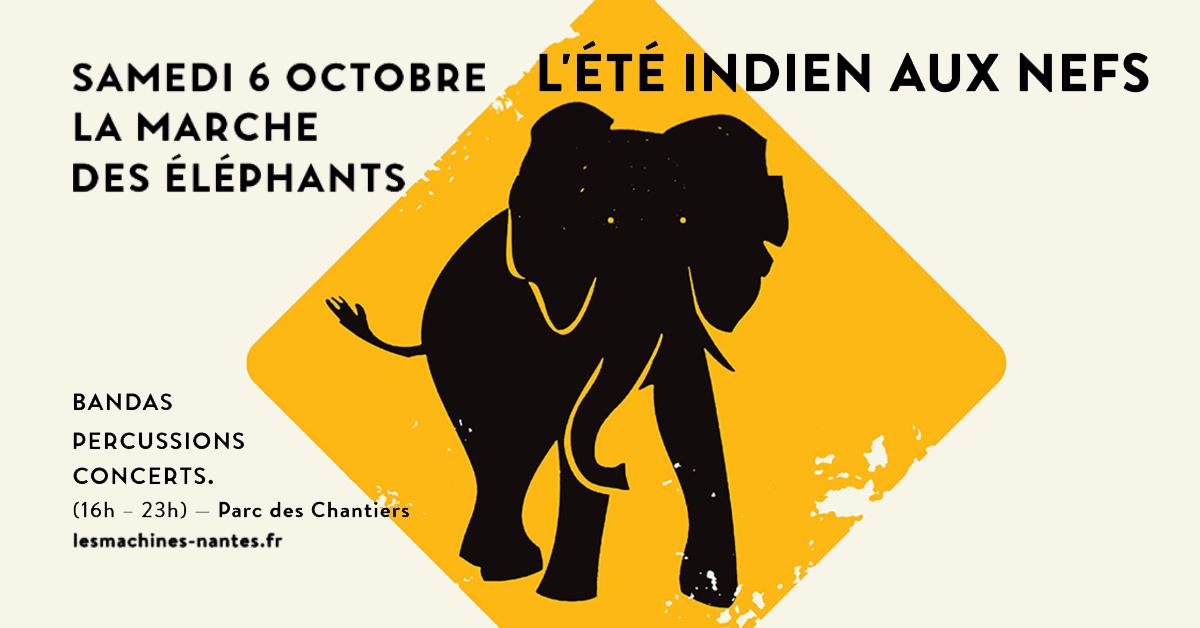 marche des elephants nantes