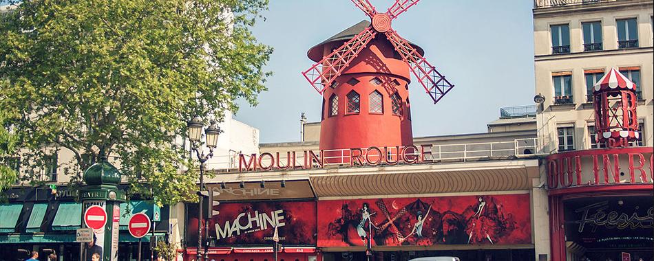 la machine du moulin rouge ferme temporairement ses portes. Black Bedroom Furniture Sets. Home Design Ideas
