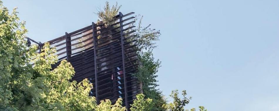 Le jardin d\'été du Quai Branly rouvre avec ses transats et vue sur ...