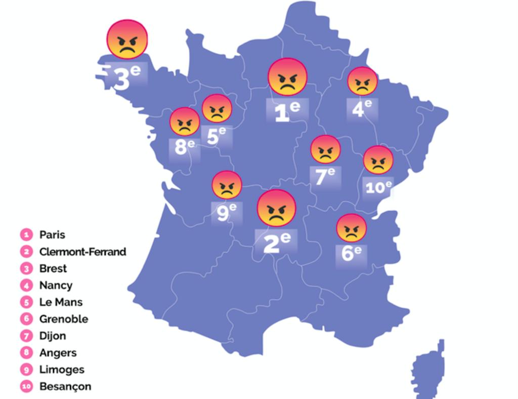 Paris est la ville o l 39 on r le le plus en france for Accouchement en piscine en france