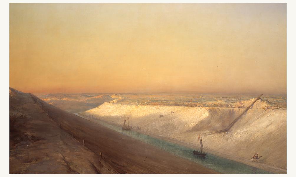 Souvenir de Ferdinand de Lesseps et du canal de Suez