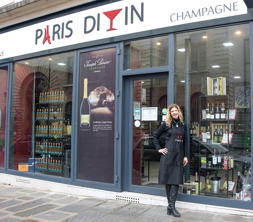 Paris Divin cave à vin 8e