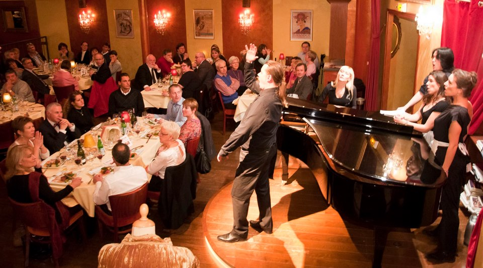 Bel Canto, Diner spectacle paris