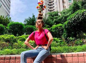 La Tendance Wtf Sur Instagram La Coiffure Pot De Fleurs