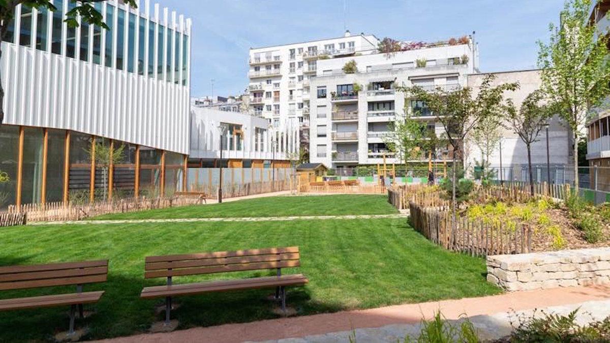 Un nouveau jardin de 913 m2 dans le 11e