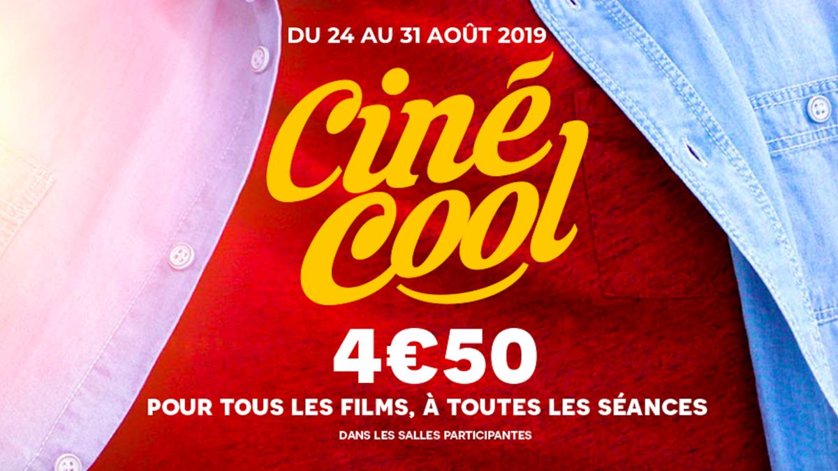 Bon plan : tes places de ciné à 4,50 euros pendant une semaine !