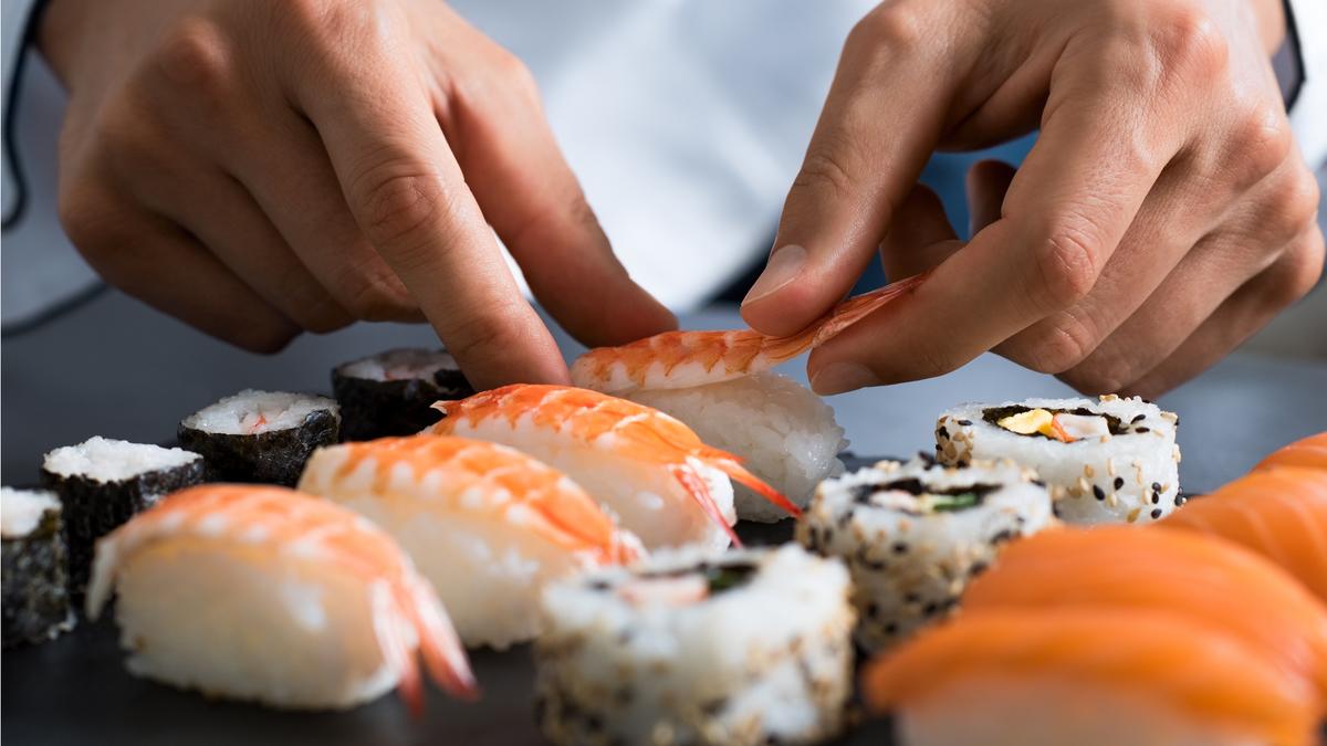 Un parisien en compétition à la coupe du monde de sushis