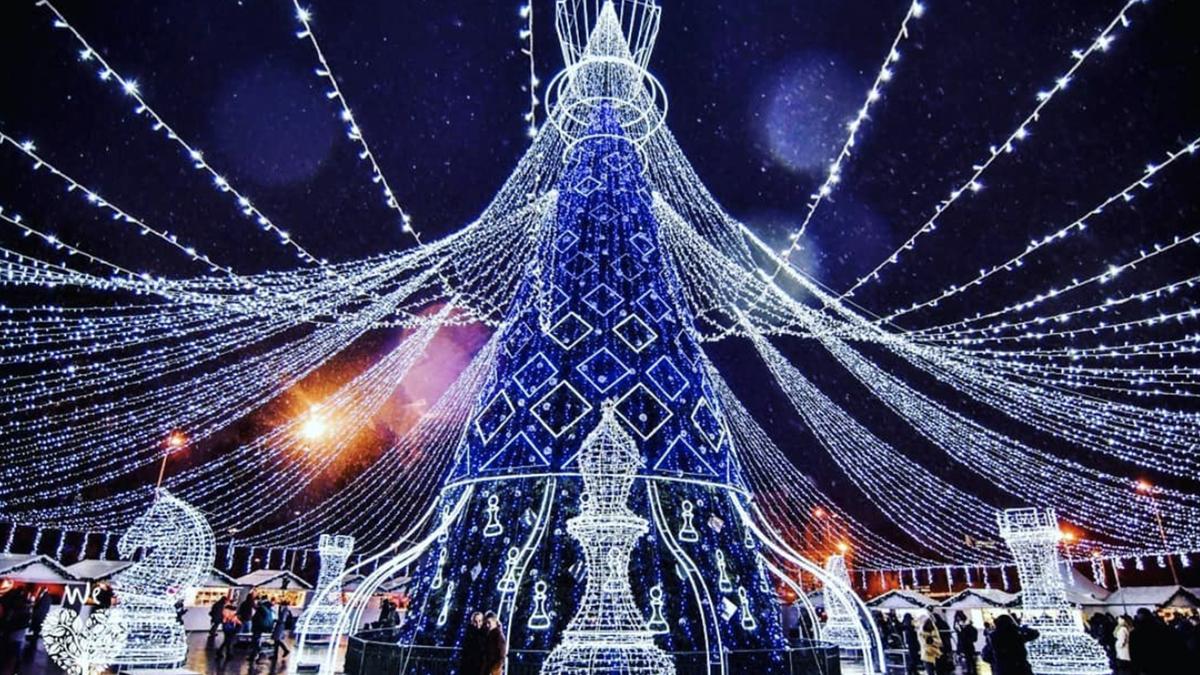 L'arbre de Noël le plus beau d'Europe