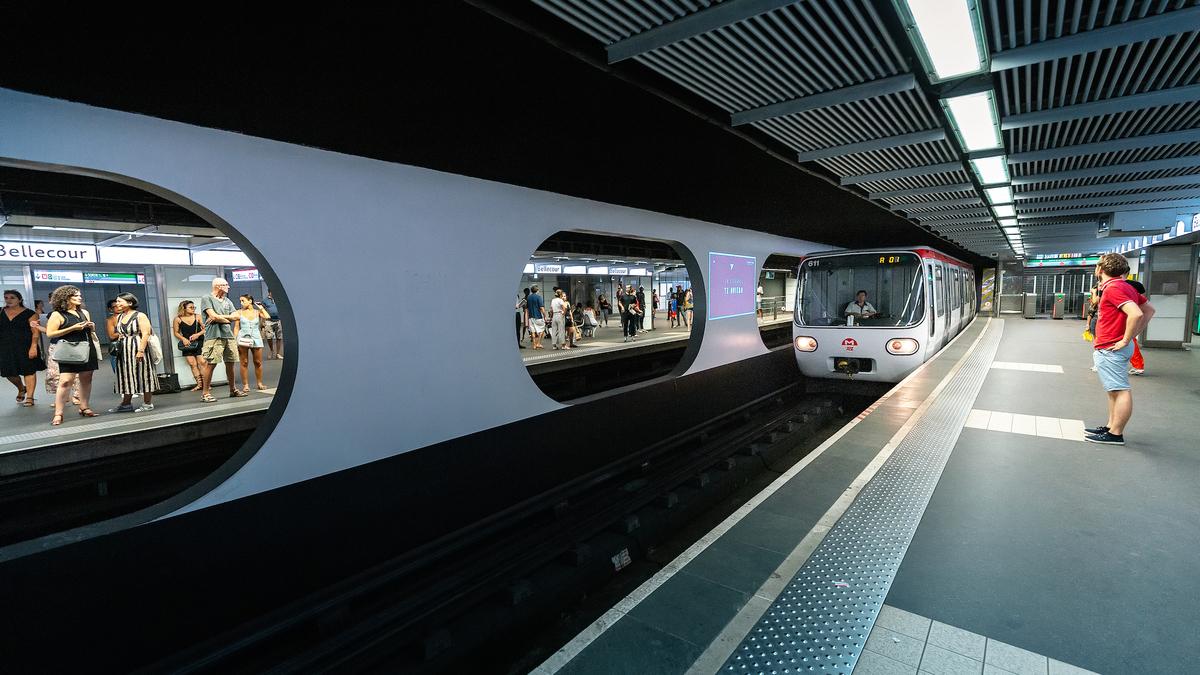ALERTE INFO : la station de métro Bellecour est fermée pour une durée indéterminée