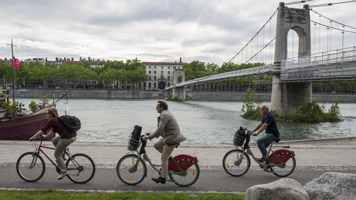 Les Vélo'v électriques arrivent à Lyon en février 2020