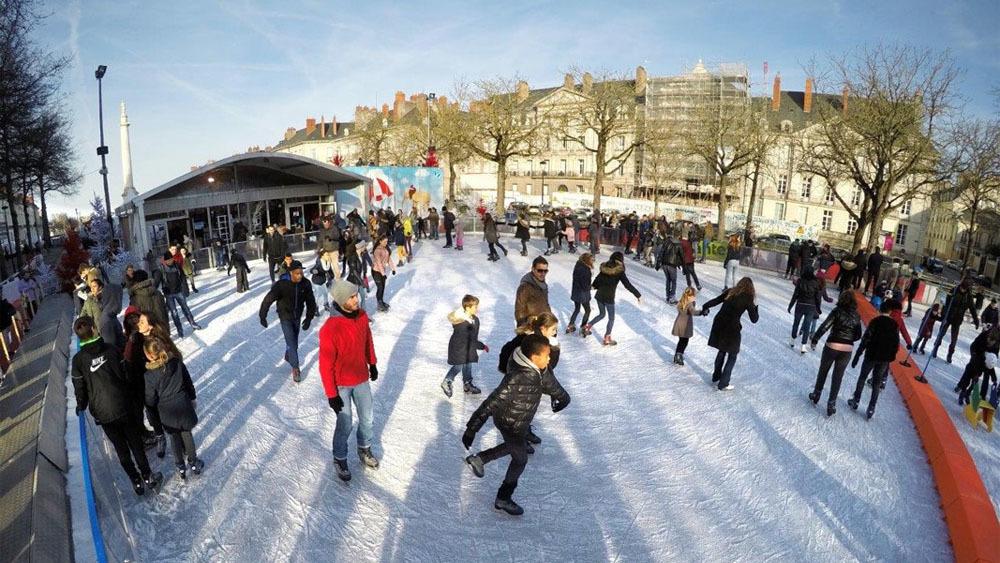 Patinoire géante et pistes de luge : Nantes'Arctique revient du 21 décembre au 5 janvier