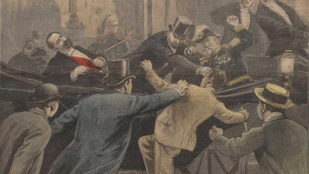 Histoire de Lyon : le jour où le président Sadi Carnot a été assassiné en plein coeur de Lyon