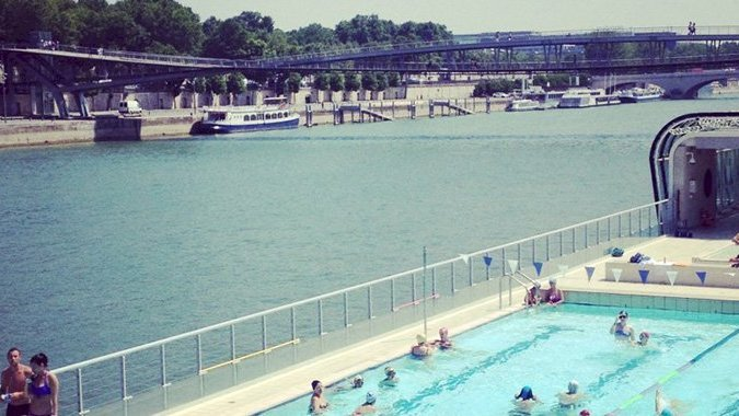 Les Plus Belles Piscines En Plein Air De Paris