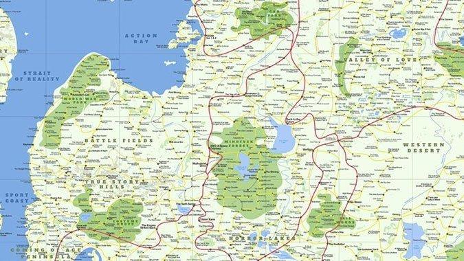 Movieland : une carte regroupe 1800 films à voir absolument