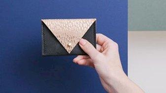 DIY: Créé ton porte-monnaie en cuir recyclé