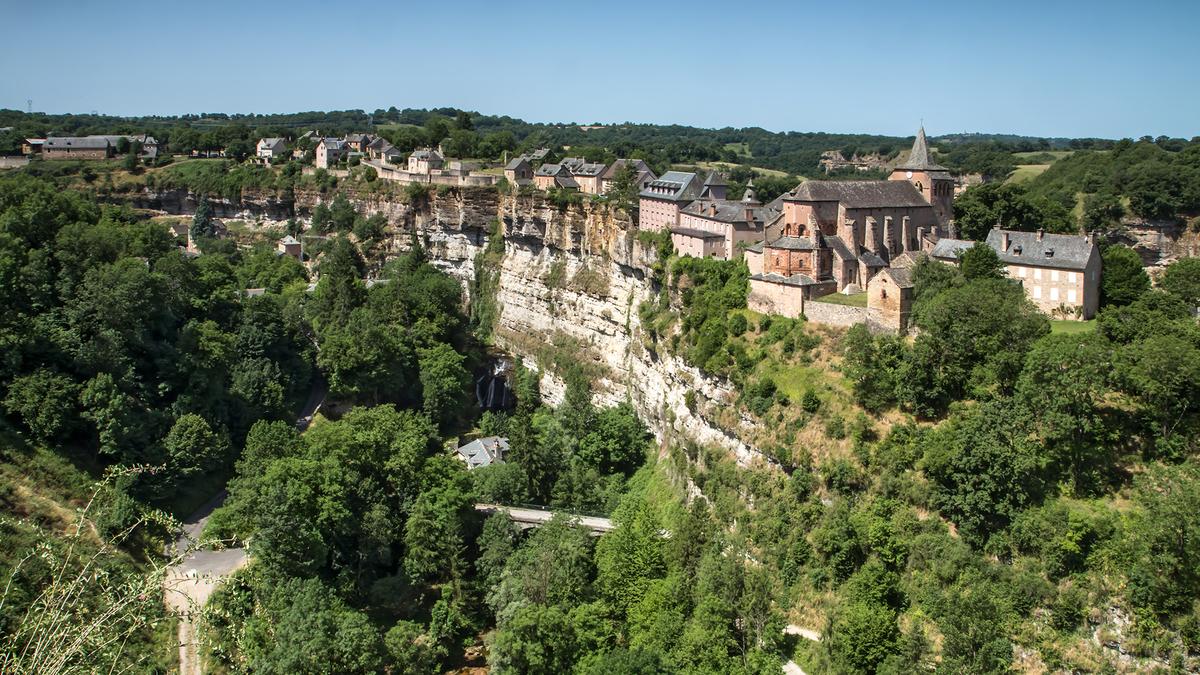 Un extraordinaire canyon caché en Aveyron, au coeur de la France