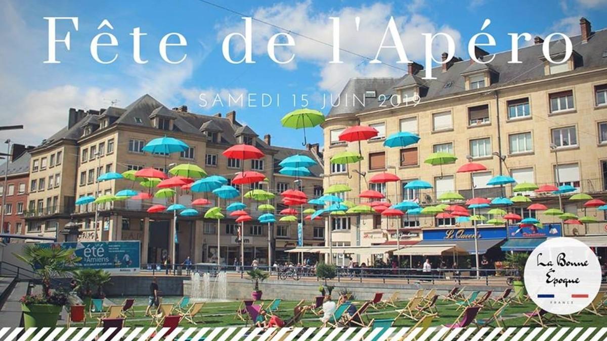 Amiens accueillera sa première Fête de l'Apéro géante cet été