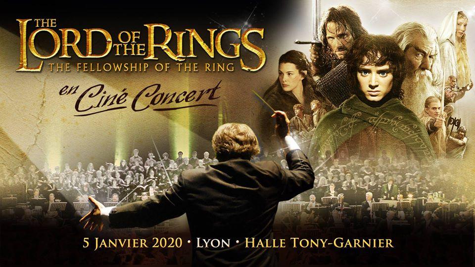 la clientèle d'abord commercialisable à bas prix Le Seigneur des Anneaux en ciné-concert à Lyon !