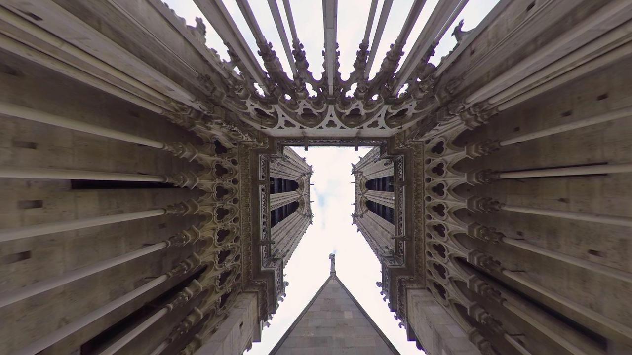 Pénétrez dans Notre-Dame avec la réalité virtuelle