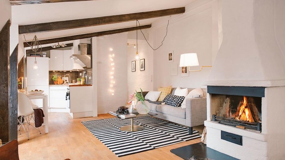 """Cet """" appartement d'étudiant sous les toits de Paris"""" qui rend fou la toile"""