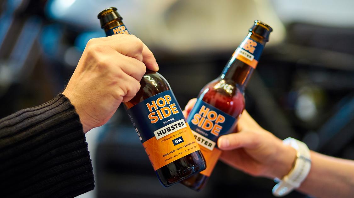 Les Lyonnais ont voté : HUBSTER dévoile sa nouvelle bière, une American IPA