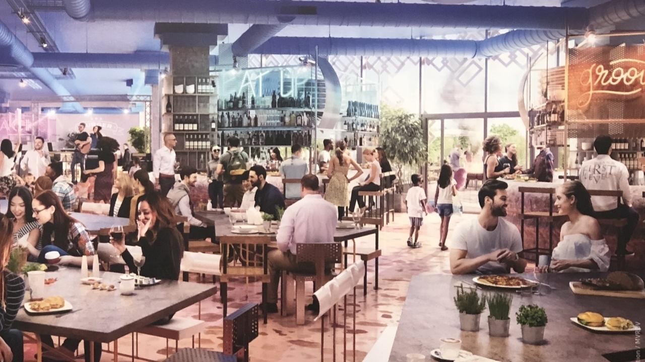 Un food court de 500 m² dédié à la street-food vient d'ouvrir à la Part-Dieu