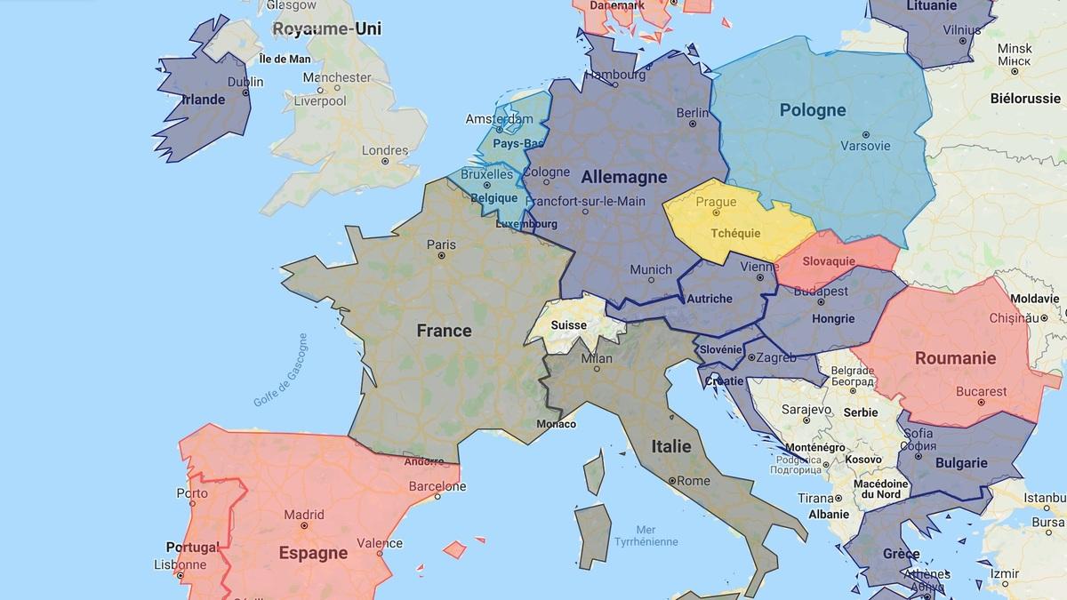 Voici la carte des sondages pour les européennes