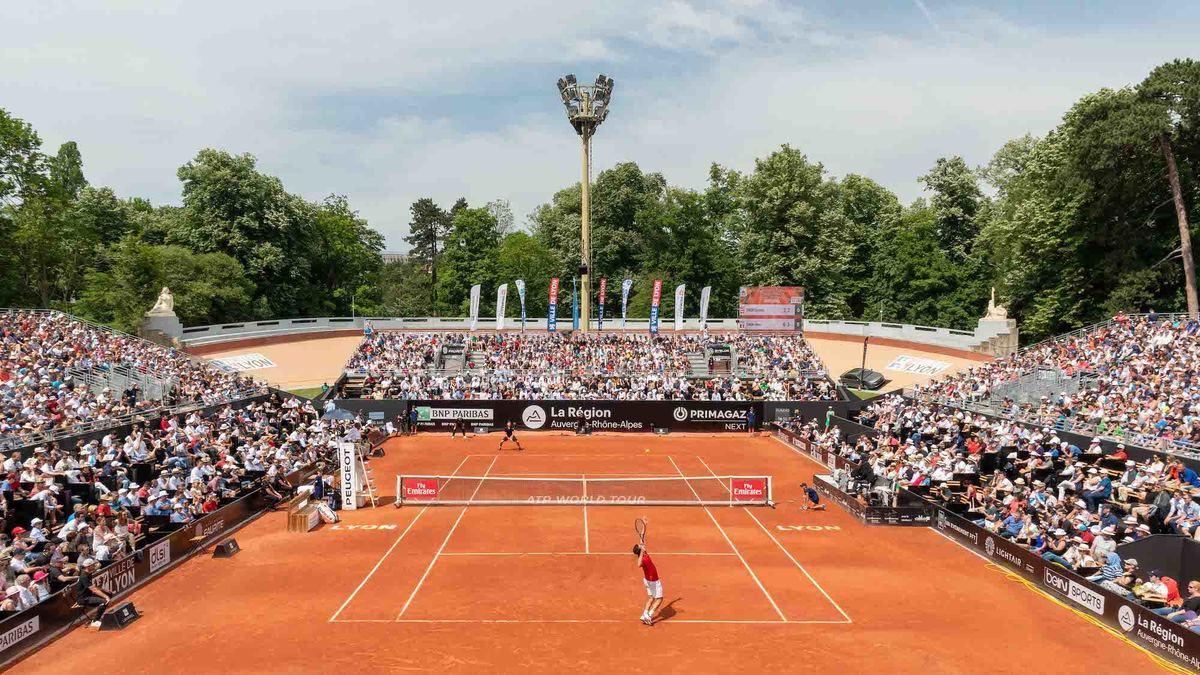 Le tournoi de tennis du parc de la Tête d'Or revient ce week-end avec un plateau XXL (et on vous offre vos places)