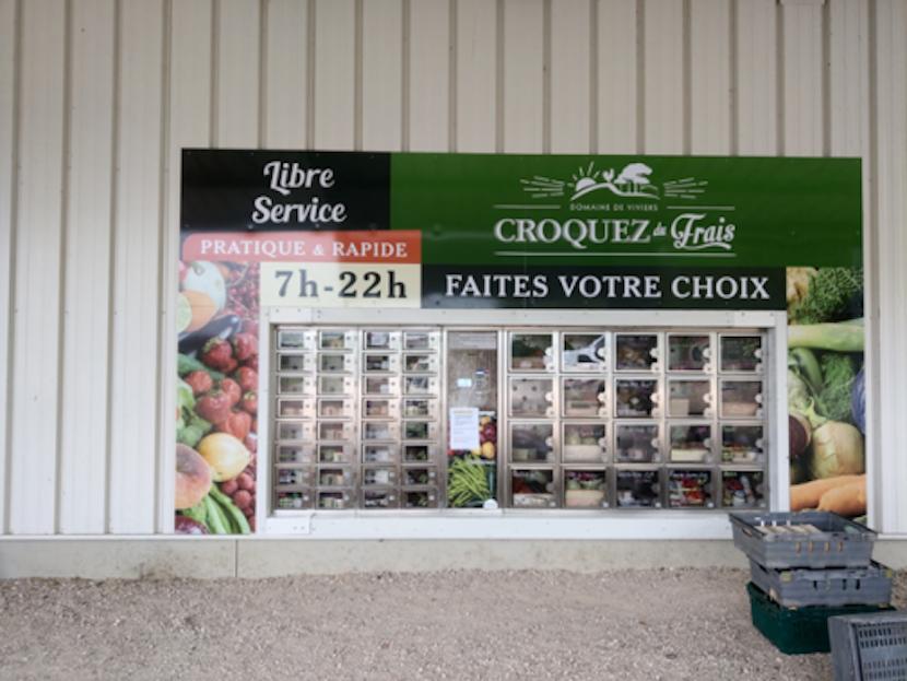 Distributeur de fruits et légumes