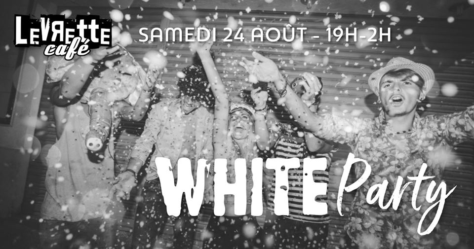 white party levrette cafe