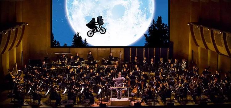 ciné concert E.T.