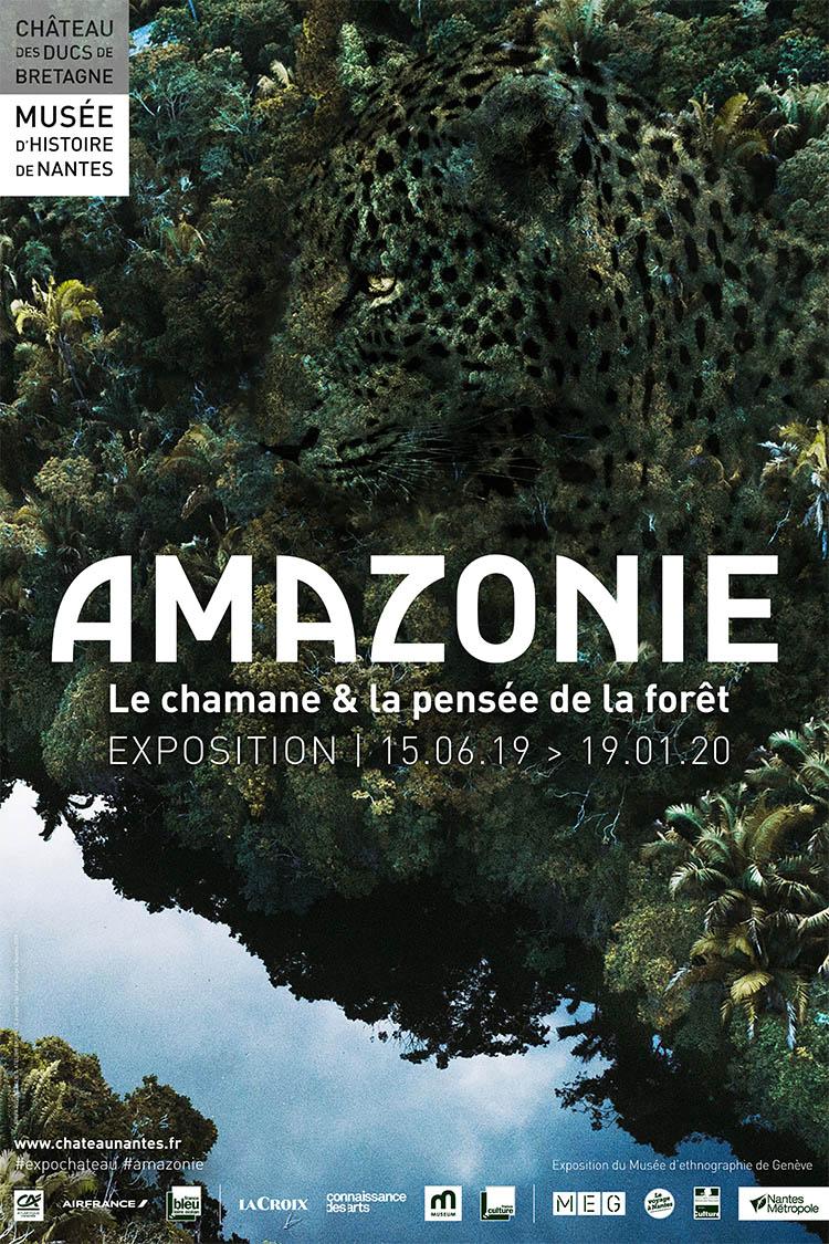 affiche exposition amazonie nantes