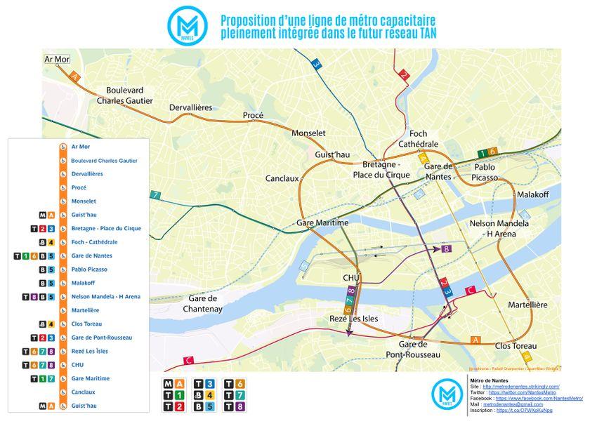 projet métro nantes