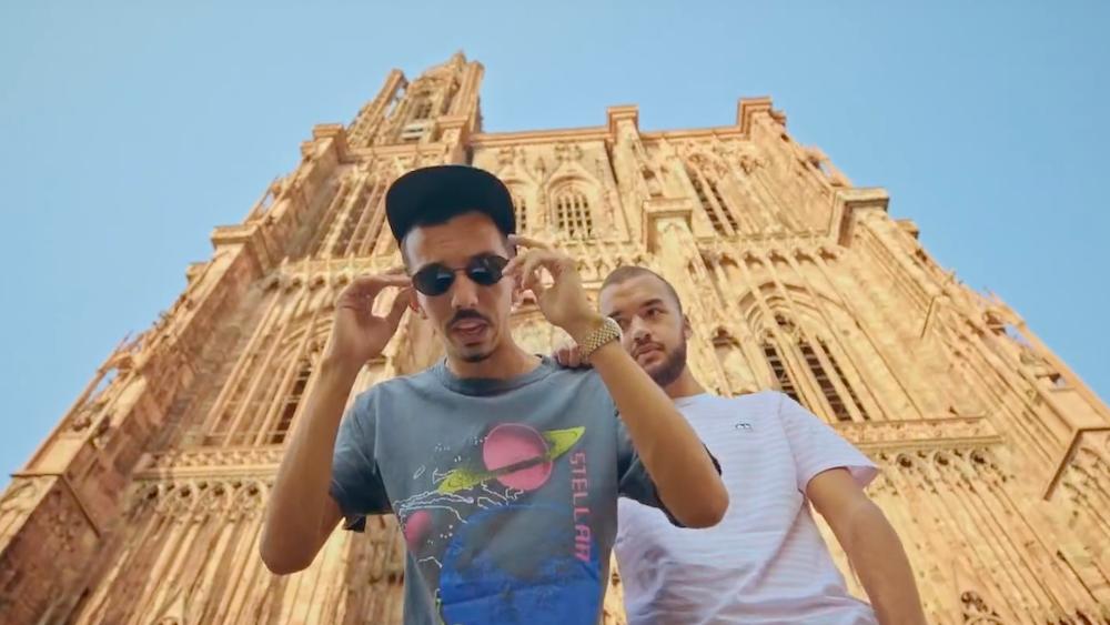 Strasbourg et la cathédrale dans le dernier clip de de Bigflo Oli