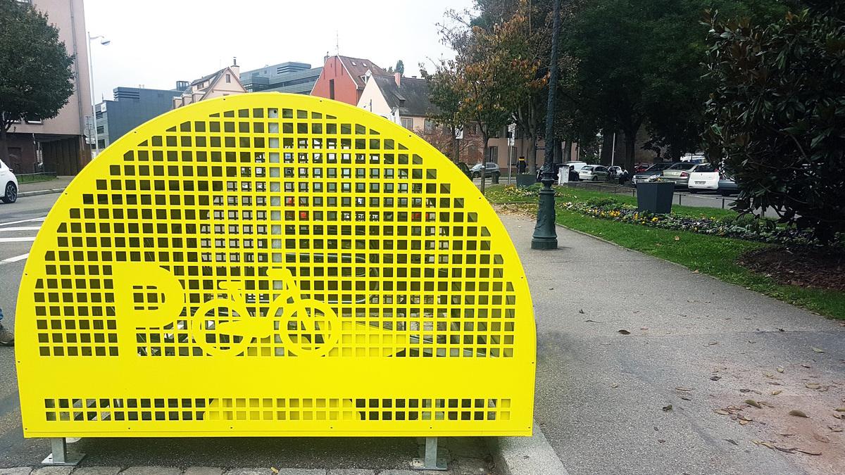 Des Vélobox s'installent à Strasbourg