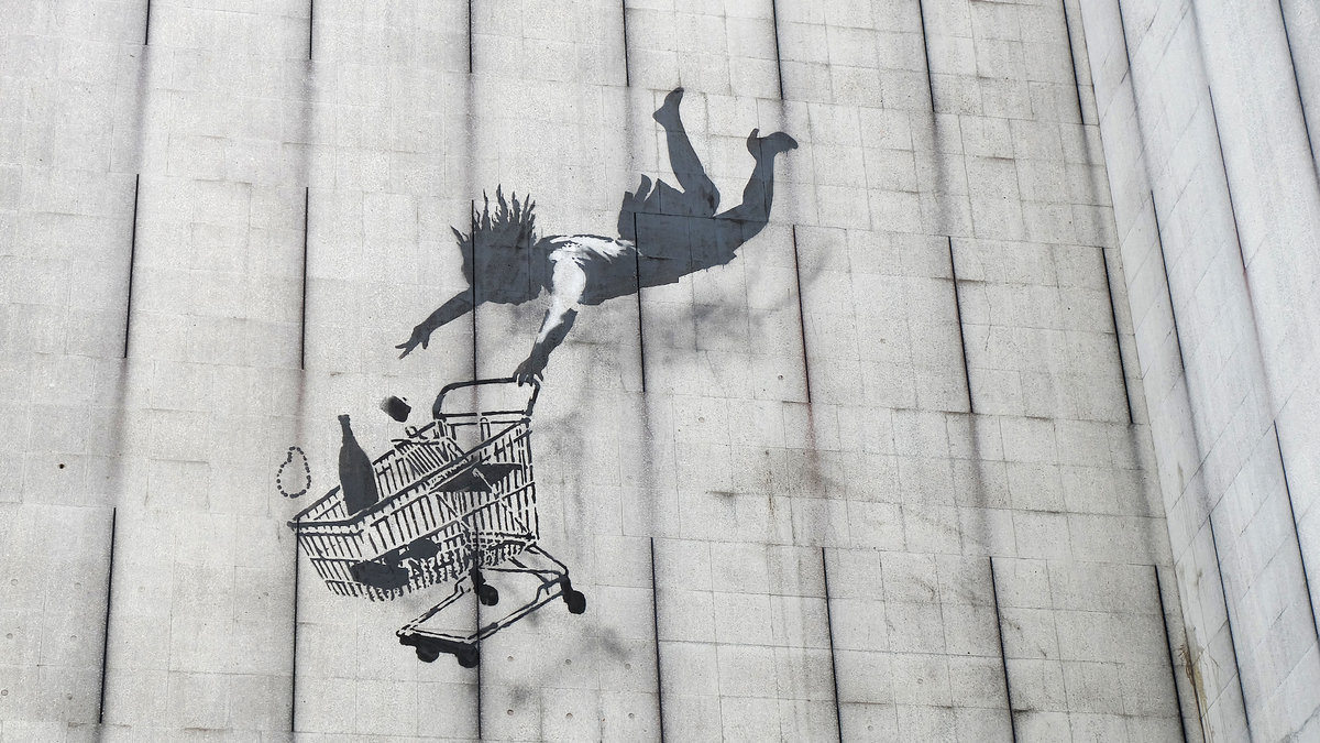 Banksy ouvre son shop en ligne