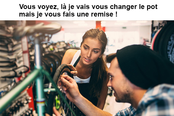 garagiste vélo