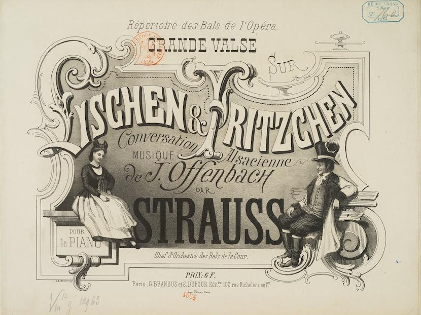 Lischen et Fritzchen, le coupe d'alsaciens de Une Conversation alsacienne, de Jacques Offenbach.