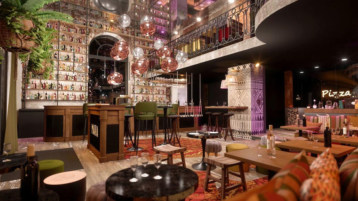 Maria : le restaurant ultra design et accessible