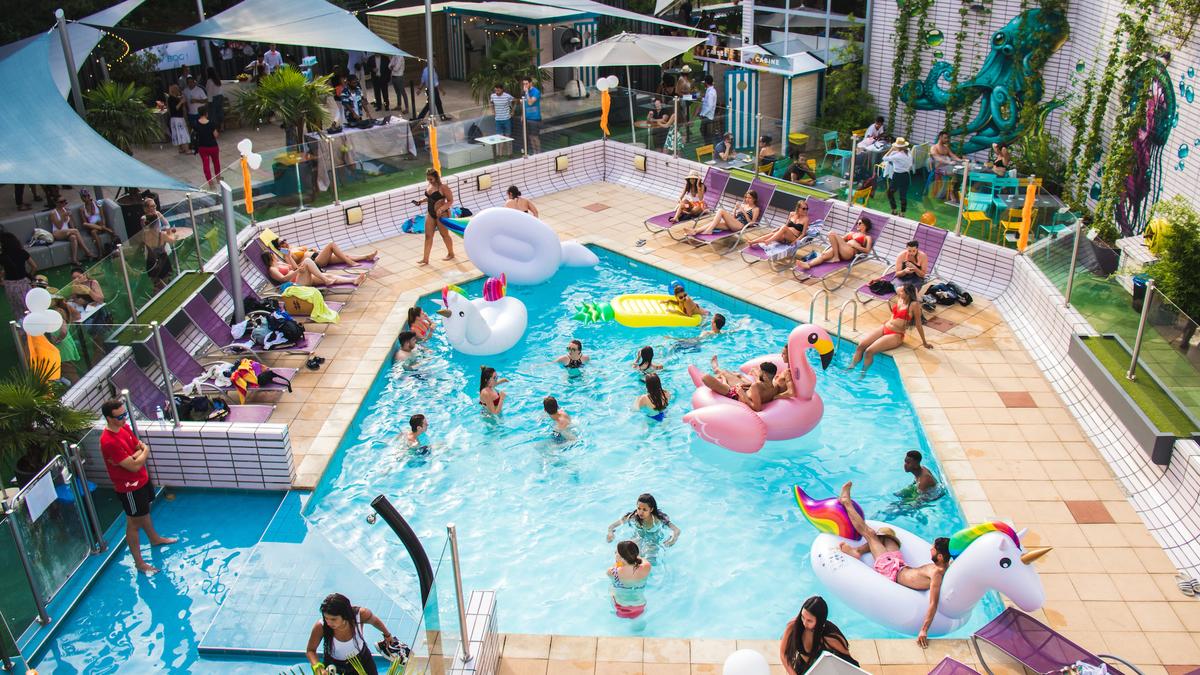 Brunch à volonté et pool party géante pour fêter la rentrée ce dimanche à Lyon