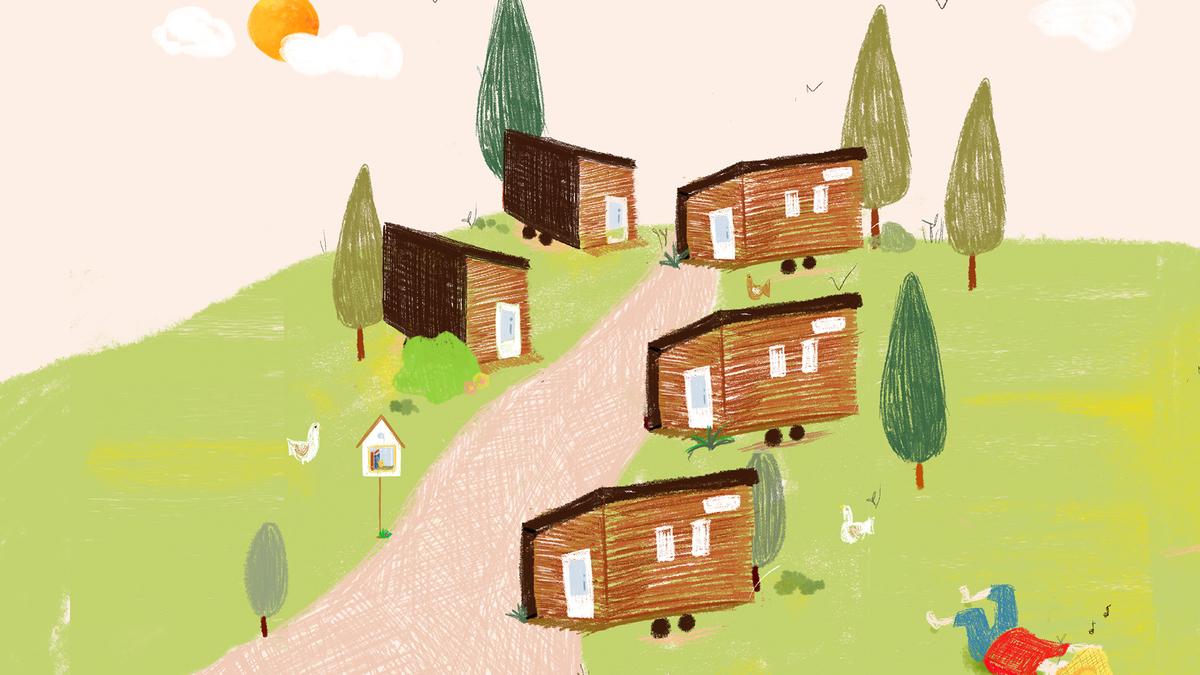 Le premier village de Tiny House en France a vu le jour en Bretagne