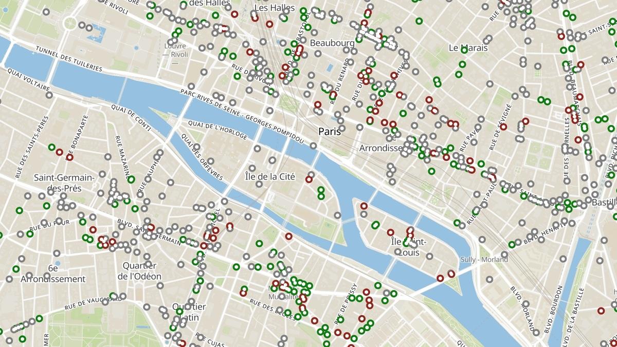 Cette carte interactive recense tous les commerces ouverts pendant le confinement