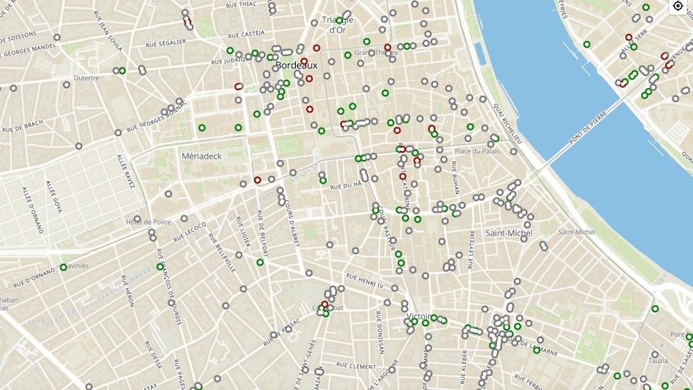 Cette carte interactive recense tous les commerces ouverts pendant le confinement à Bordeaux