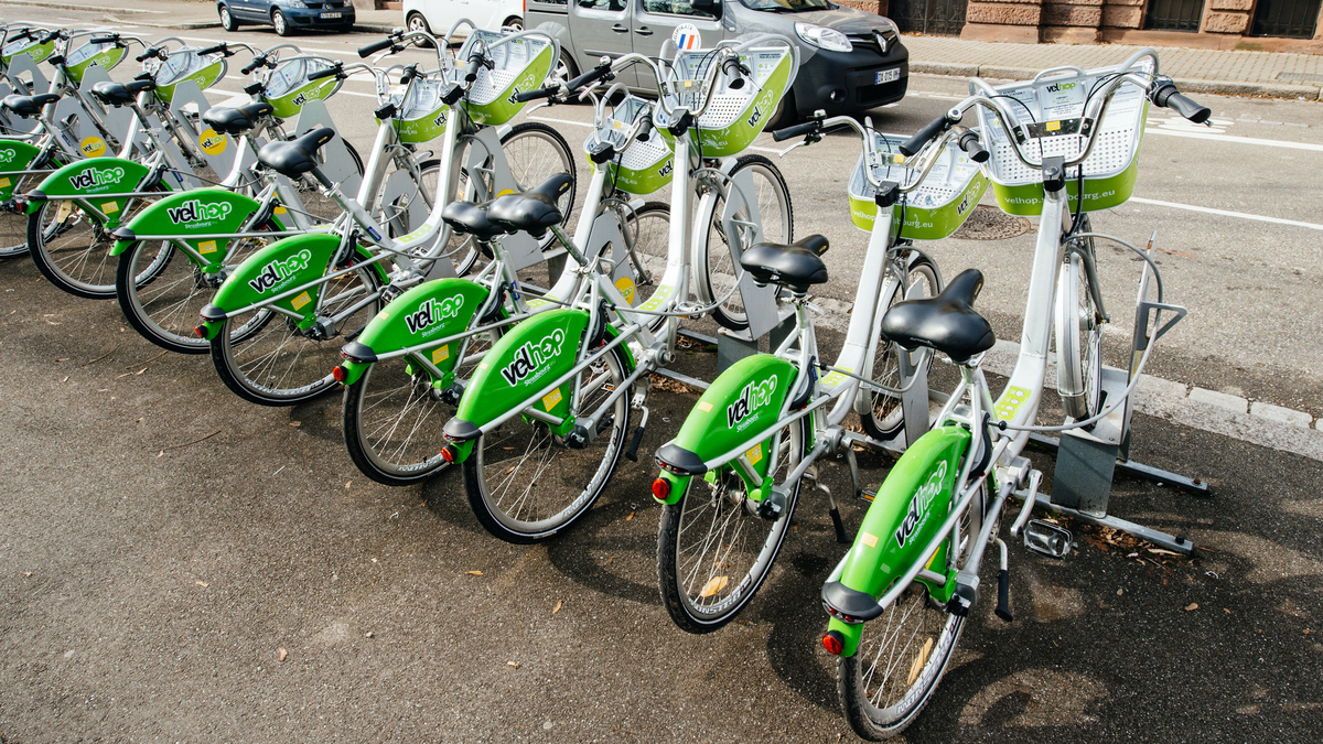 Strasbourg : les Vélhop mis à disposition du personnel soignant
