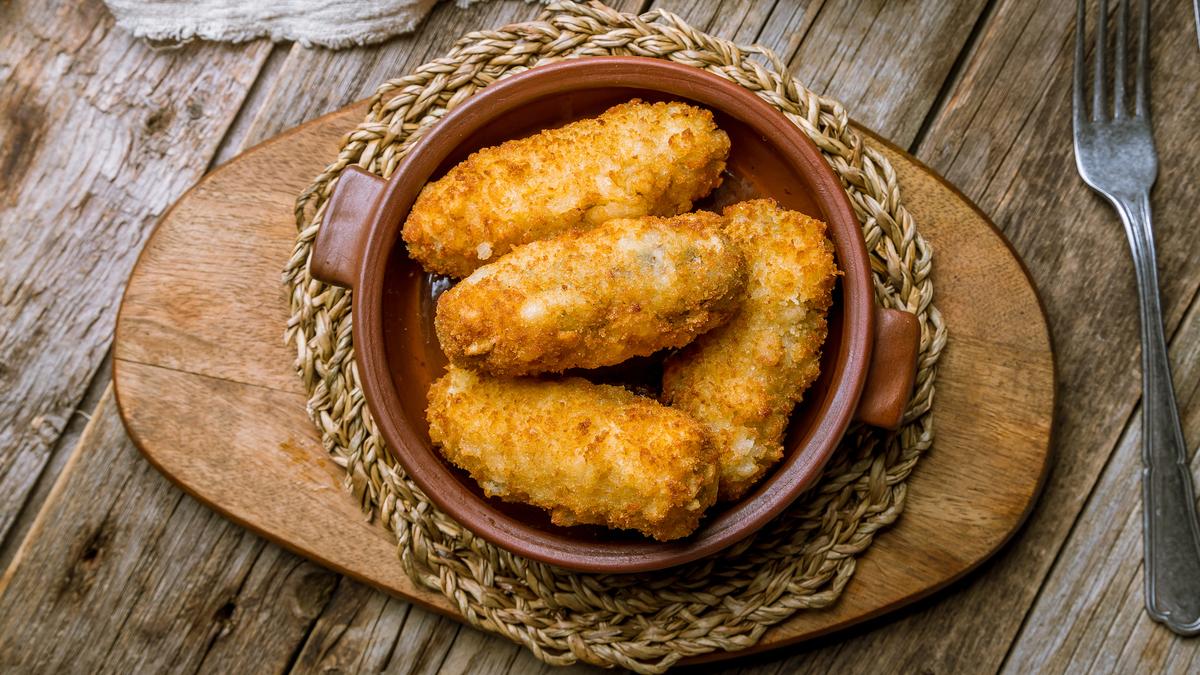 Recette des croquettes de macaroni à la carbonara