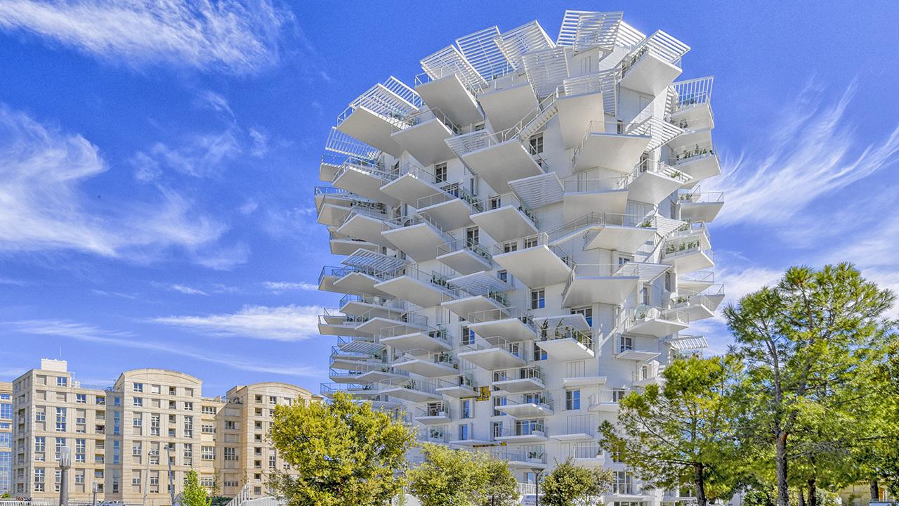 L'Arbre blanc de Montpellier élu plus beau bâtiment résidentiel du monde