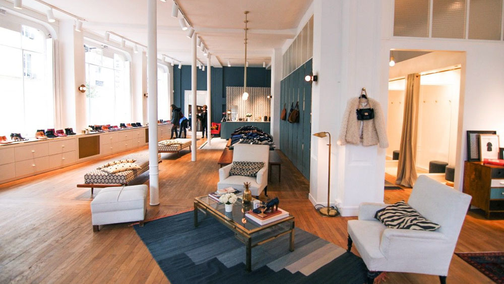 Une boutique éphémère Sézane s'installe à Nantes du 6 au 28 mars