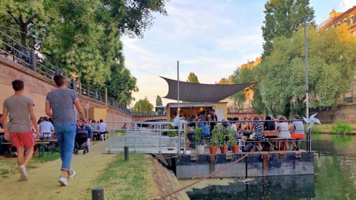 Deux nouvelles terrasses flottantes à Strasbourg dès cet été