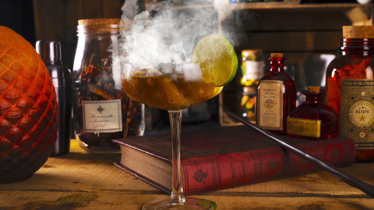 Une soirée cocktails moléculaires sur le thème d'Harry Potter débarque à Lyon