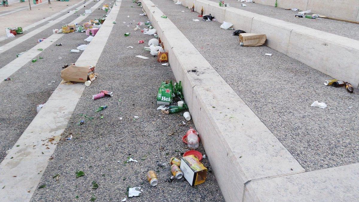 Déchets sur les quais du Rhône : la Métropole de Lyon réagit à la polémique